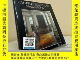 二手書博民逛書店【罕見】CARPETS FROM CHINA, XINJIANG