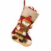 圣誕襪子禮物袋圣誕節禮品袋兒童禮品圣誕老人大號飾品幼兒園裝飾