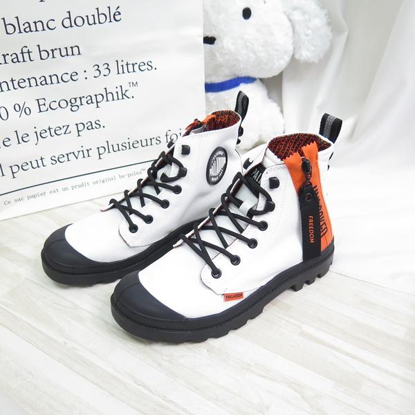 Palladium PAMPA UNLOCKED 防潑水 高筒靴 77239116 男女款 白【iSport愛運動】