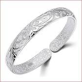 精致時尚手鐲 繁花似錦手鐲 鍍銀手環手飾品  s112