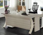 【新北大】✪ K612-2 花樣6尺主桌(不含側櫃.活動櫃)-18購