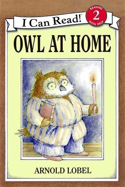 (二手書)An I Can Read Book Level 2: Owl at Home
