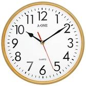 【A-ONE】10吋電鍍框立體字時鐘 TG-0313