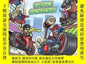 二手書博民逛書店LEGO罕見樂高超級英雄 Sidekick Showdown!Y