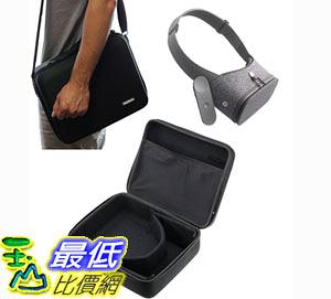 [106美國直購] 手提包 Navitech Black Hard Carry Bag Case Cover With shoulder Strap For VR  Virtual Reality 3D headsets