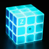 夜光魔方三階透明順滑速擰容錯學生專業益智異形魔方玩具WY 免運直出 交換禮物