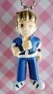 【震撼精品百貨】日本精品百貨-手機吊飾/鎖圈-格鬥系列-手機吊飾-藍眨眼
