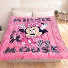 HO KANG 迪士尼授權 法蘭絨雙面毯...