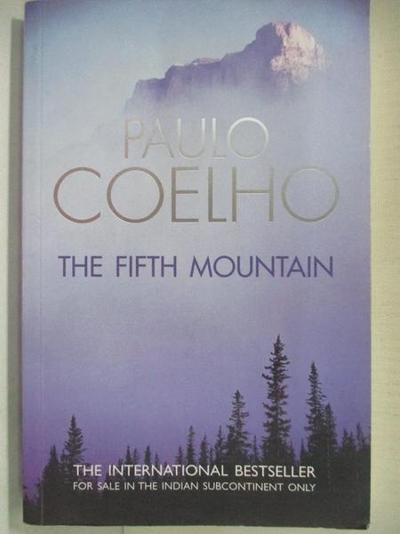 【書寶二手書T1/原文小說_A43】The Fifth Mountain_Paulo Coelho