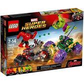 樂高積木 LEGO《 LT76078》SUPER HEROES 超級英雄系列 - Hulk vs. Red Hulk