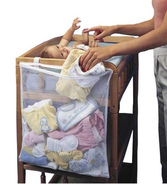 嬰兒用品 嬰兒床換衣袋 收納袋 方便袋 換洗衣物 透視歸納 寶貝童衣