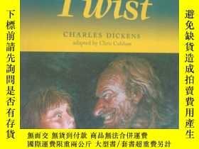 二手書博民逛書店(headwork罕見classics) Oliver Twist 英文原版20開插圖本 品好未閱Y13697