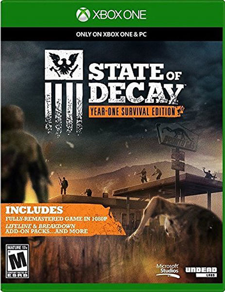 X1 State of Decay- Year-One Survival Edition 腐朽之都 週年生存版(美版代購)