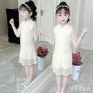 漢服女童夏2020新款民族風改良旗袍兒童大童女夏裝洋裝唐裝超仙潮 yu12987『寶貝兒童裝』