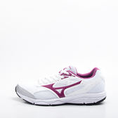 Mizuno  寬楦 MAXIMIZER 女慢跑鞋 學生鞋  白 K1GA180168