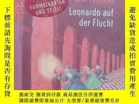 二手書博民逛書店德語原版罕見Der geheime Tunnel: Leonar