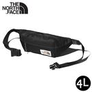 【The North Face 4L 腰包《黑》】3KY6/側背包/隨行包/臀包/透氣/運動/跑步