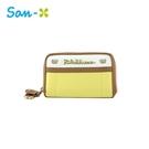 黃色款【日本正版】拉拉熊 皮革 零錢包 卡片包 懶懶熊 Rilakkuma San-X - 428614