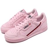 【六折特賣】adidas 休閒鞋 Continental 80 粉紅 藍 皮革 基本款 經典復刻 女鞋 運動鞋【PUMP306】 B41679