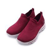 SKECHERS GO WALK EVOLUTION ULTRA 套式休閒鞋 酒紅白 15725RAS 女鞋