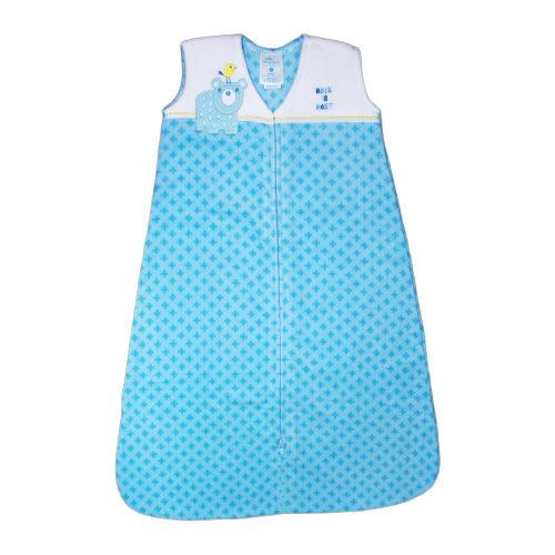 【HALO】防踢包巾- 刷毛-藍色小熊(M) #10336