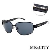 【南紡購物中心】【SUNS】ME&CITY 義式紳士黑質感方框太陽眼鏡 抗UV400 (ME 110013 L600)