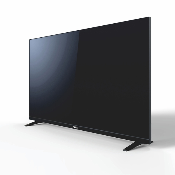 (送飛利浦LED顯示萬國旅充)美國AOC 40吋FHD液晶顯示器+視訊盒40M3390