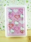 【震撼精品百貨】Hello Kitty 凱蒂貓~撲克牌-愛心圖案-粉色