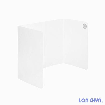 連勤 防疫隔板 多種尺寸 攜帶式用餐隔板 折疊式隔板 LC-1903L