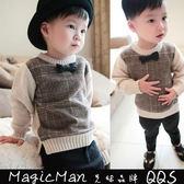 【現貨】童裝 小紳士針織衫毛衣(圖片色80/120) WAW0493★ Magicman ★
