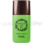 ☆17go☆ HABA 無添加主義 全物理高效防護乳SPF50+/PA++++(30ml)