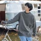 毛衣 韓版小寬鬆慵懶風半高領針織毛衣 針織衫【TJF8621】 現貨+預購