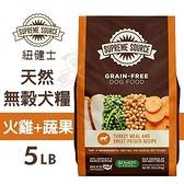 *KING WANG*Supreme Source紐健士 天然無穀犬糧(火雞+蔬果)5LB.無穀物、無麩質.犬糧