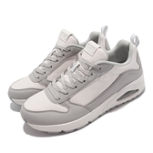 Skechers 休閒鞋 UNO Anomoly 男鞋 灰 白 記憶鞋墊 氣墊 舒適腳感 運動鞋【ACS】 232151-WLGY