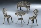 HY-Y365-6  休閒金葡萄單人椅(半鋁/古銅色/單台)