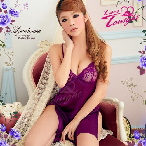 睡衣T1215-紫-F