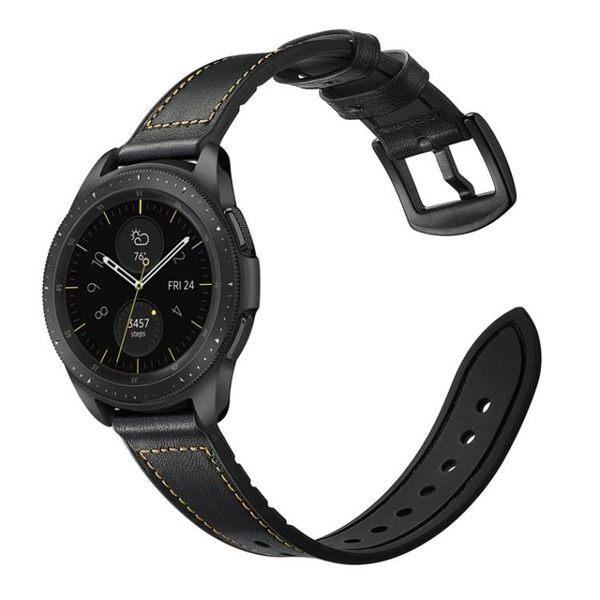 【春季上新】Watch華米1/2代華為Watch GT手錶錶帶頭層真皮錶帶