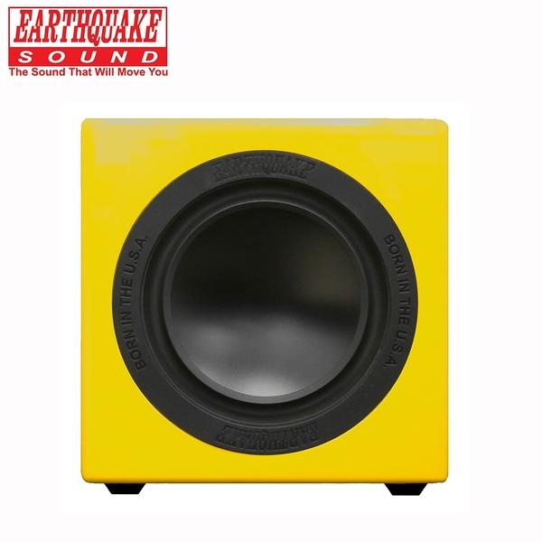 美國大地震 EARTHQUAKE SOUND MiniMe P63 重低音喇叭 (鋼烤黃)