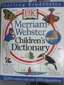 【書寶二手書T7/字典_QFS】Merriam-Webster Children s Dictionary_DK Pub