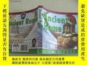 二手書博民逛書店Ancient罕見Rome11398 1000 FACTS MI