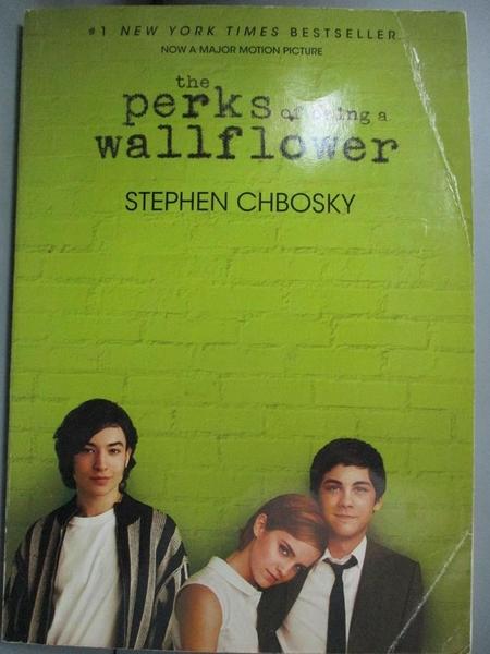 【書寶二手書T2/原文小說_MPW】The Perks of Being a Wallflower_Chbosky, Stephen