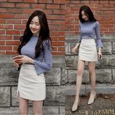 包臀裙 新款小短裙修身高腰職業工作裙彈力一步裙包臀裙夏 莎瓦迪卡