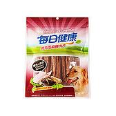 寵物家族-【每日健康】亮毛芝麻雞肉片135g