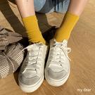 MD韓-坑條短襪-8色【09190054】