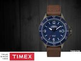 【時間道】 TIMEX天美時 遠征系列經典復刻腕錶– 藍面仿舊棕皮(TW4B10700/TXTW4B10700)免運費