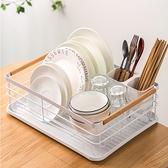 餐具收納架廚房用品置物架家用瀝水碗架放碗柜【英賽德3C數碼館】