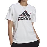 Adidas W VALENTINE G T 女 白 情人節 休閒 短袖 GL0870