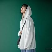 防曬衣女冰絲學生韓版寬松長袖開衫外套夏季薄款【時尚大衣櫥】