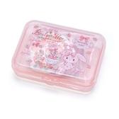 〔小禮堂〕蹦蹦兔 日製造型貼紙組附盒《粉.草莓》40枚入.裝飾貼.黏貼用品 4901610-03826