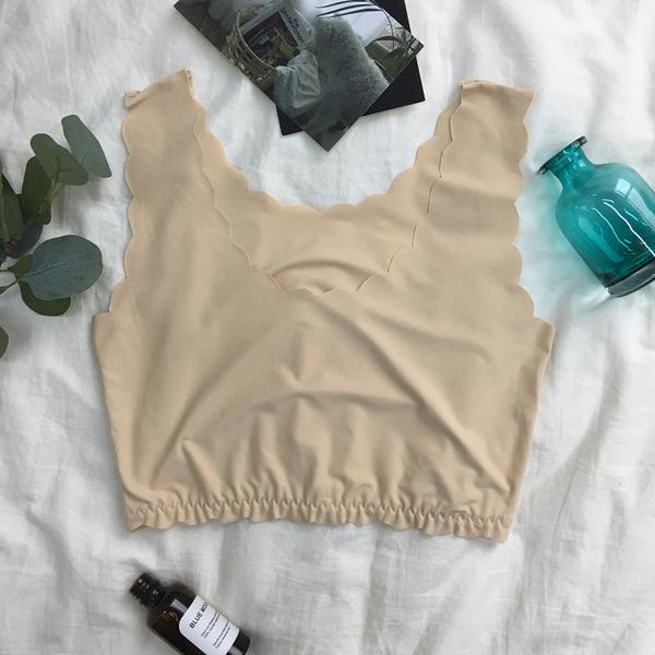 [超豐國際]女夏吊帶裹胸抹胸內衣防走光冰絲圍胸一片式無痕打底1入